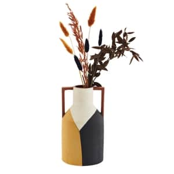 Dekorativní váza Terracotta Handles 25cm