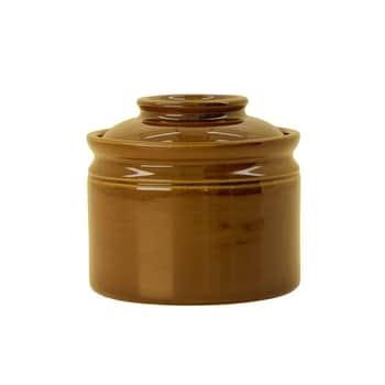 Kameninová dóza na sůl Mocha