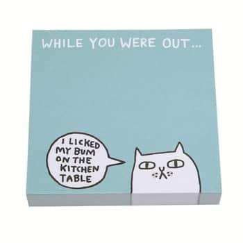 Samolepicí bloček While You Were Out Sticky Notes