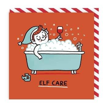 Vánoční přání Elf Care
