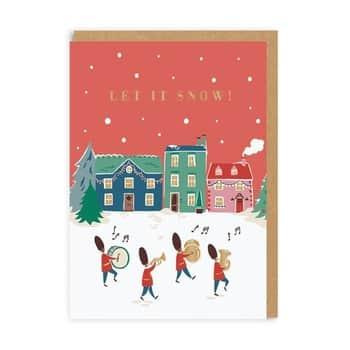 Vánoční přání Cath Kidston Let It Snow!