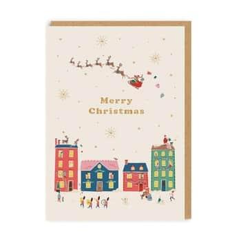 Vánoční přání Cath Kidston Merry Christmas