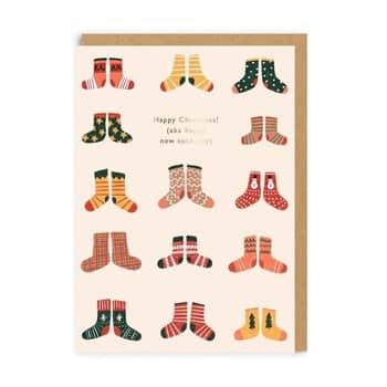 Vánoční přání Christmas aka New Sock Day