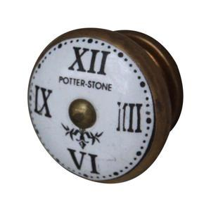 Chic Antique / Úchytka Roman numeral