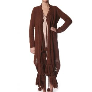 Odd Molly / Cardigan - cognac 191
