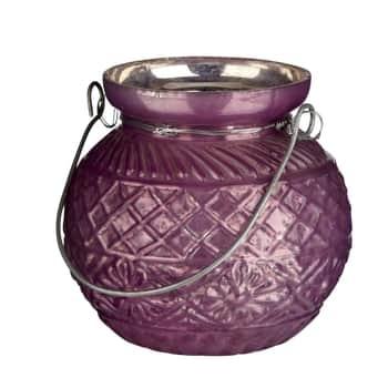 Závěsná lucerna Purple