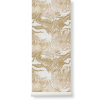 ferm LIVING / Tapeta Marbling Gold